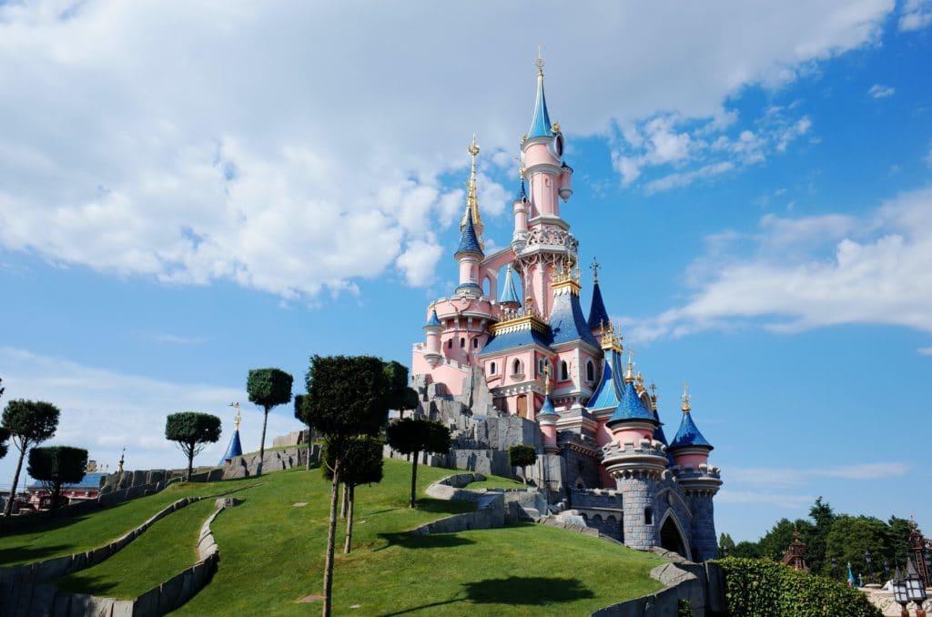 Disney castle, disney blog