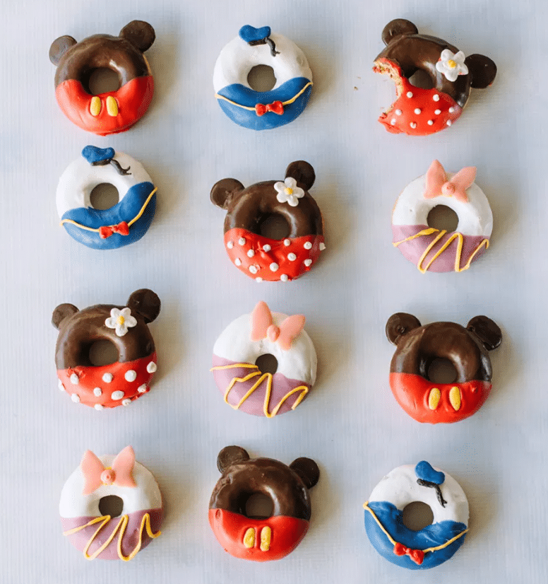 Disney Party food ideas donuts