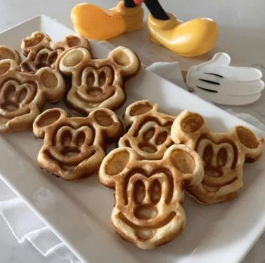 Disney Party food ideas waffle