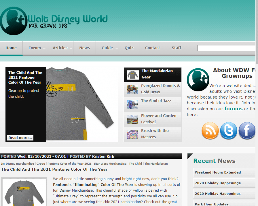 disney world blogs