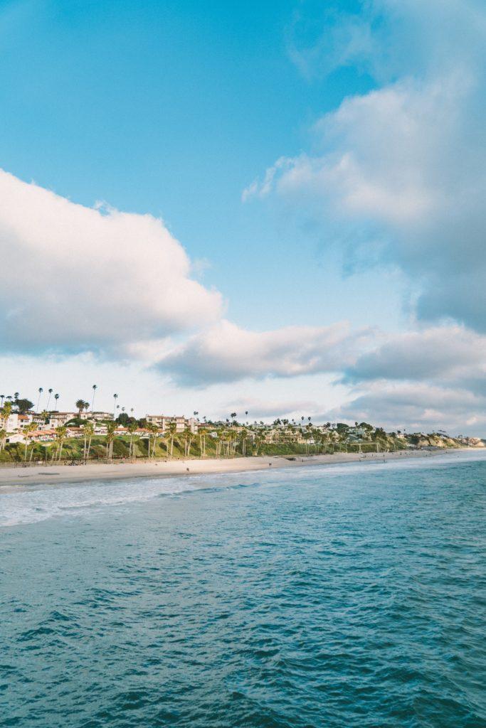 closest beach to Disneyland