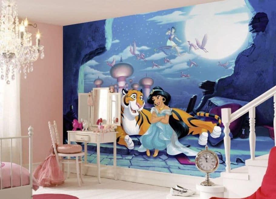 Jasmine Aladdin Disney bedroom
