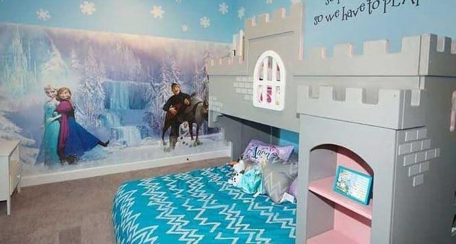 Frozen room Disney bedroom ideas