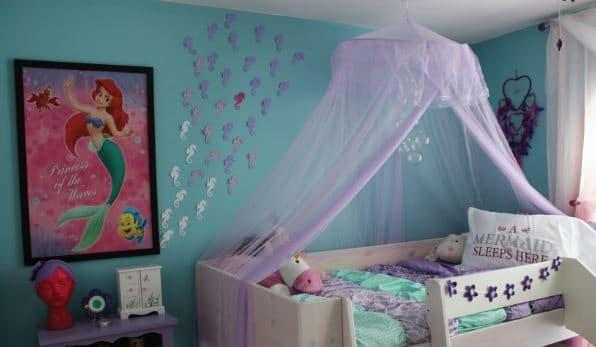 Little Mermaid Disney bedroom idea